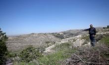 إقامةبؤرة استيطانية وسط الضفة بحمايةجيش الاحتلال
