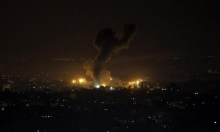 """إطلاق مقذوفات باتجاه """"غلاف غزة"""" وطيران الاحتلال يقصف بالقطاع"""