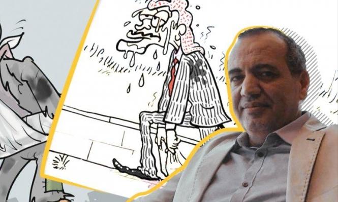 تمديد اعتقال رسام الكاريكاتير عماد حجاج وتغييب رسوماته
