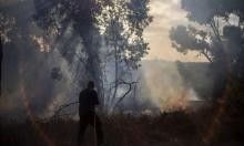 """23 حريقا في """"غلاف غزة"""" وفرص التصعيد قائمة"""