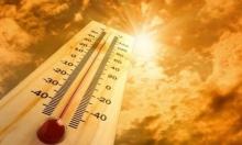 حالة الطقس: درجات حرارة مرتفعة
