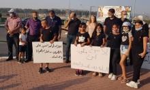 وقفة احتجاجية بين طمرة وكابول ضد ظاهرة حوادث الطرق