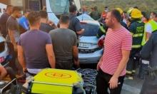 مصرع 4 أشخاص ومحاولة إنعاش خامس إثر حادث بين حافلة إسرائيلية وسيارة فلسطينية قرب قلقيلية