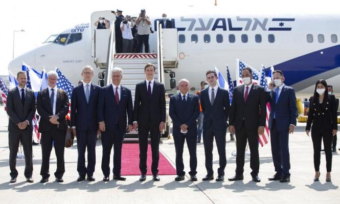 """إدانة فلسطينيّة لـ""""طائرة التطبيع"""" الإسرائيليّة الإماراتيّة"""