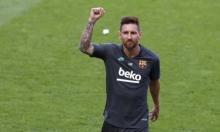 ميسي يقرر البقاء في فريق برشلونة