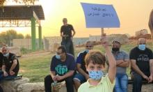 """الطيبة: تظاهرة رفضًا لإغلاق المدارس وضدّ تصنيف المدينة كـ""""منطقةحمراء"""""""