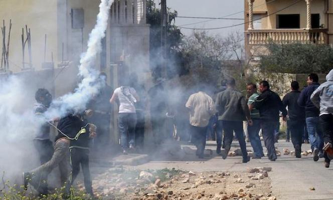 إصابات جراء قمع الاحتلال لمسيرة كفر قدوم الأسبوعيّة