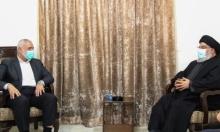 نصر الله وهنية يناقشان تطبيع دول عربية مع إسرائيل