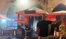 عكا: إضرام النار بمحل تجاري وقوارب إثر شجار