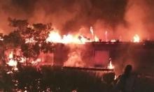 واحة السلام: إضرام النار بالمكتبة بعد أسبوع من حرق المدرسة