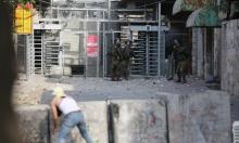 اعتقالات بالضفة والقدس وتوغل عسكري محدود بغزة