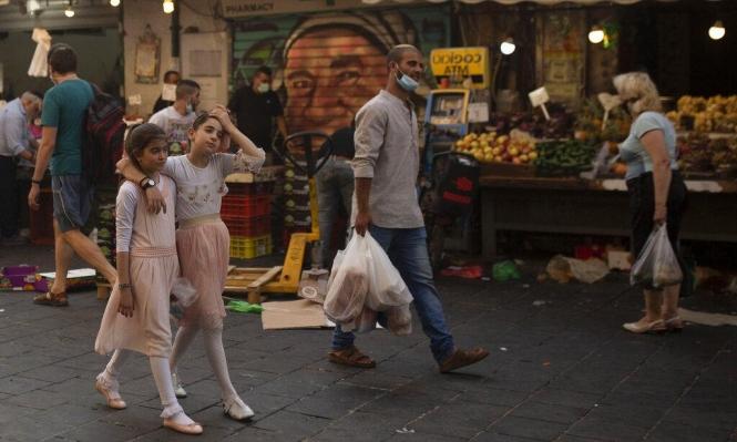 الصحة الإسرائيلية: 2257 مصابا جديدا بكورونا وارتفاع عدد المصابين الخطرين
