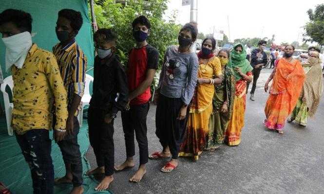 كورونا: نحو 27 مليون إصابة والهند الثانية عالميا بالإصابات