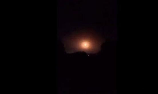 سورية: هجوم صاروخي إسرائيلي على منطقة حلب