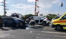 إصابة خطيرة في حادث طرق بمفرق العياضية