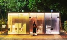طوكيو: مراحيض عامة جديدة شفّافة الواجهة