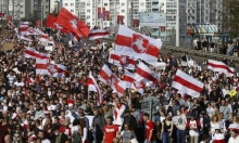 بيلاروسيا: توقيف 400 محتج على نتيجة الانتخابات الرئاسية
