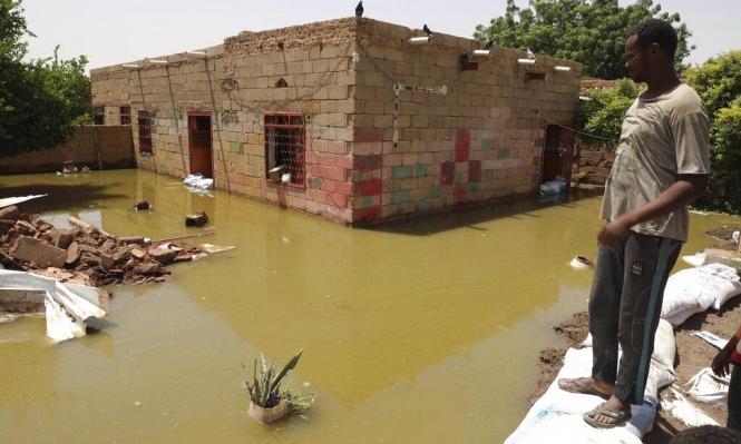 ارتفاع عدد قتلى الفيضاناتفي السودان إلى 114