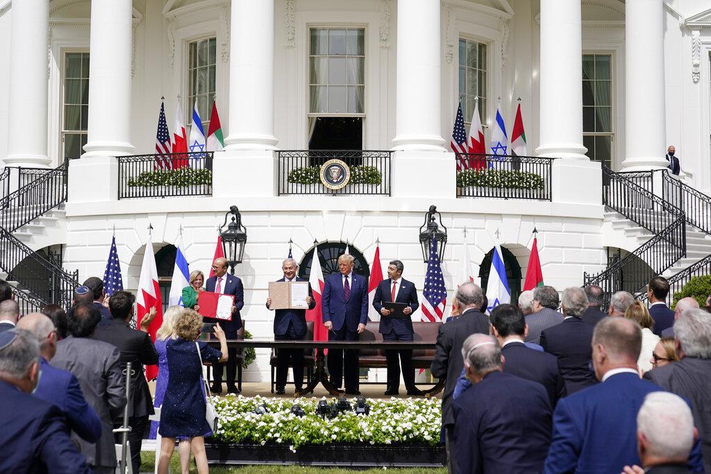 الإمارات والبحرين توقعان اتفاقات للتطبيع مع إسرائيل في البيت الأبيض
