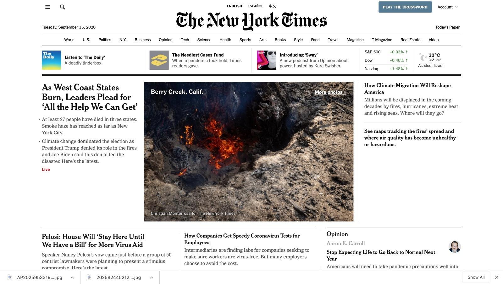 """""""نيويورك تايمز"""""""