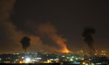 غارات على غزة ورشقات صاروخية باتجاه الجنوب