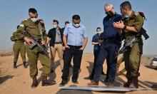 غانتس يهدد بتصعيد في غزة إذا استمر إطلاق الصواريخ