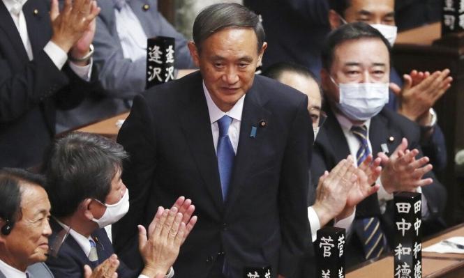 اليابان: البرلمان ينتخب يوشيهيدي سوغا رئيسا للحكومة