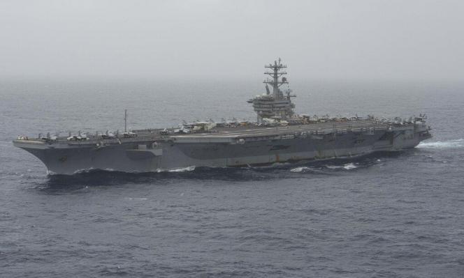 حاملة طائرات أميركية تدخل مضيق هرمز في ظل التوتر مع إيران