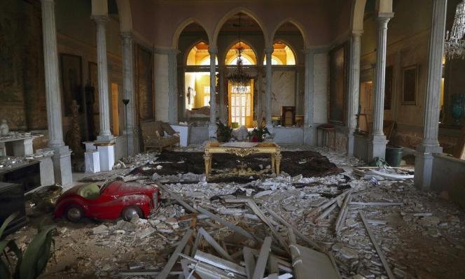 لبنان: العثور على 1.3 طن من المتفجرات في مرفأ بيروت