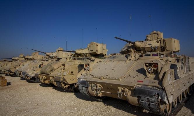 تعزيزات عسكرية أميركية شمال شرق سورية
