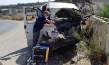 مجدل شمس: 4 إصابات إحداها خطيرة في اصطدام مركبة بجدار