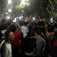استمرار المظاهرات المطالبة برحيل السيسي رغم حظر التجوال والاعتقالات