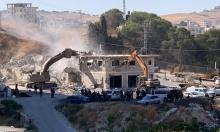 وادي حمص: الاحتلال يخطر بهدم عمارات سكنية مرخصة