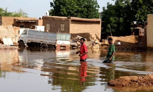السودان: ارتفاع عدد ضحايا السيول إلى 128