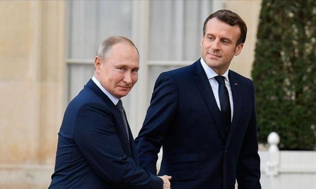 فرنسا تحقق مع صحفها المحليّة بعد نشرها مكالمة مُسربة بين بوتين وماكرون