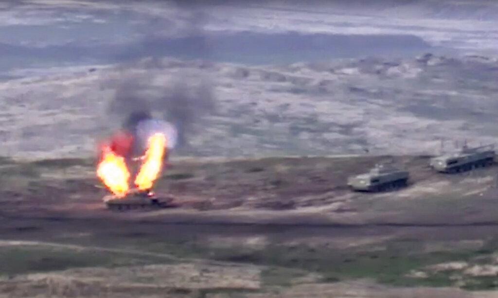 إعلان حرب متبادل بين أذربيجان وأرمينيا