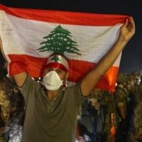 احتجاجاتلبنانيّة تندد بفشل تشكيل حكومة إنقاذ