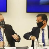 """بومبيو: سنستخدم """"نفوذنا العسكري والدبلوماسي"""" للتهدئة بين اليونان وتركيا"""
