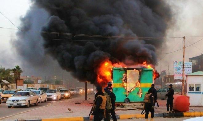 العراق: مقتل 5 مدنيين بينهم 3 أطفال جرّاء سقوط صاروخ قرب مطار بغداد