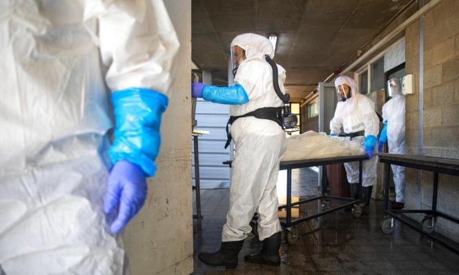 الصحة الإسرائيلية: عدد مرضى كورونا بحالة خطيرة تجاوز 800 مريض