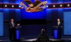 ترامب وبايدن يتبادلان التهم والإهانات بأول مناظرة رئاسية