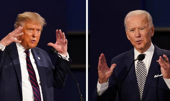 استطلاع أميركي: 60% من مشاهدي مناظرة المرشحين أُعجبوا بأداء بايدن