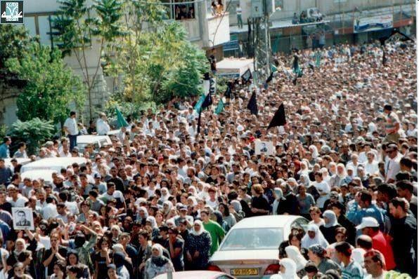 """تشييع الشهداء تحوّل إلى تظاهرات (أرشيف """"عدالة"""")"""