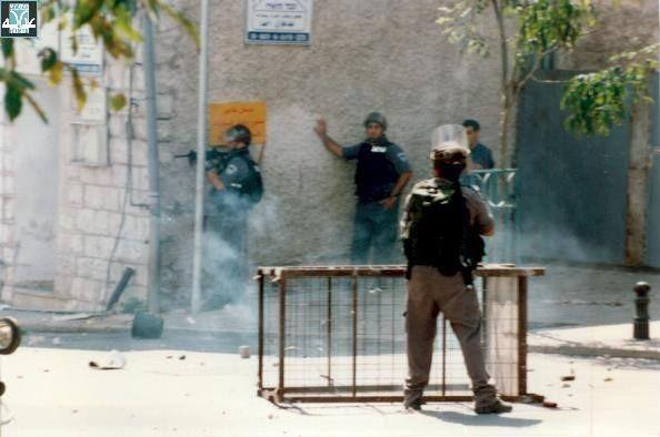 """من الاعتداءات الإسرائيلية (أرشيف """"عدالة"""")"""
