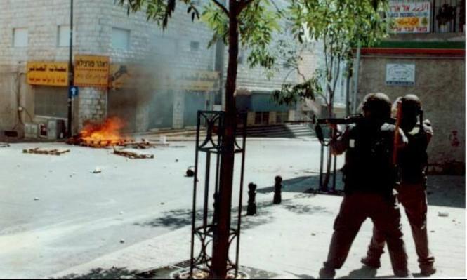 من اعتداءات الشرطة في هبة القدس والأقصى