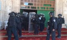 """الاحتلال ومستوطنوه يواصلون اقتحام الأقصى والإبراهيميّ """"لفرض واقع تهويدي جديد"""""""