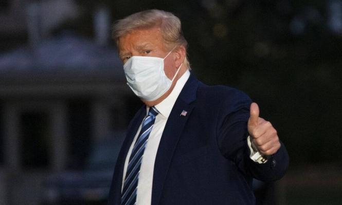 """""""لم يخرج من دائرة الخطر"""": ترامب يغادر المستشفى"""