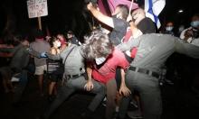 مواجهات مع الشرطة في مظاهرات مطالبة برحيل نتنياهو