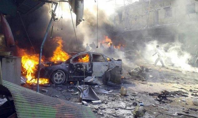 سورية: 18 قتيلاغالبيتهم مدنيون إثرانفجار سيارة مفخخة