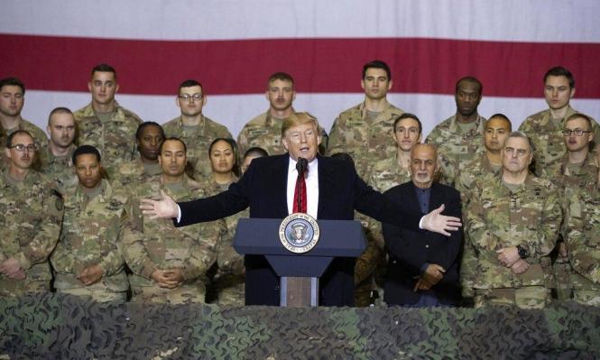 ترامب يعتزم إعادة جميع القوات الأميركية في أفعانستان بحلول عيد الميلاد